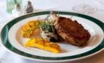 Grilled Pork Chop Farci