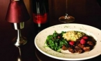 Cajun Seared Duck Breast with Cranberry Orange Glaze served with Citron Risotto & Tuscan Spinach